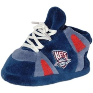 NBA Baby Slipper Size: One Size Fits All, NBA Team: New Jersey Nets by Comfy Feet