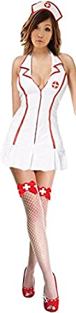 Sexy Lingerie Naughty Role Play Nurse Costume