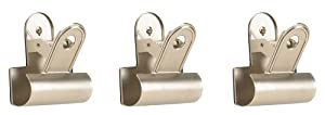 Umbra Clipper Metal Wall-Hook, Set of 3