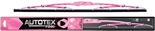 AutoTex PINK Plus AP-P18 Metal Windshield Wiper Blade with Pink Frame - 18