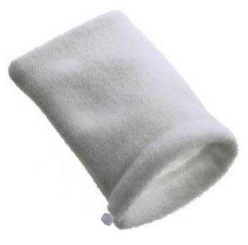 South Ocean Five Aof10121 Felt Filter Media Bag For Aquarium Filter, 4 By 12-Inch