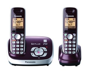 Dect 6.0+, Dual Handset, Itad, Red Dect 6.0+, Dual Handset, Itad, Red