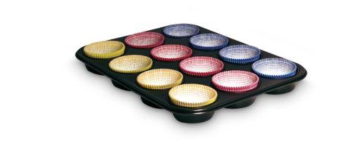 Guardini 89913 Set Stampo Dodici Muffins e Sessanta Pirottini In Carta
