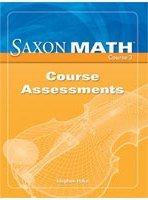 Saxon Math Course 3: Assessments