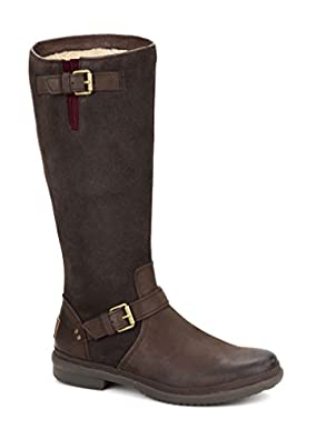 Popular UGG Adirondack II Womens Brown Sheepskin Waterproof Snow