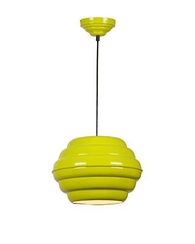 Homemania Lámpara De Suspensión Pendant Verde