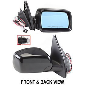 BMW X5 00-06 SIDE MIRROR RIGHT PASSENGER, POWER, HEATED, FOLDING, KOOL-VUE, NEW! (2001 Bmw X5 Side Mirror compare prices)
