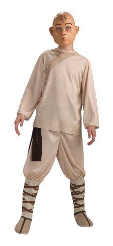 Rubies The Last Airbender Childs Aang Costume & Mask - Medium