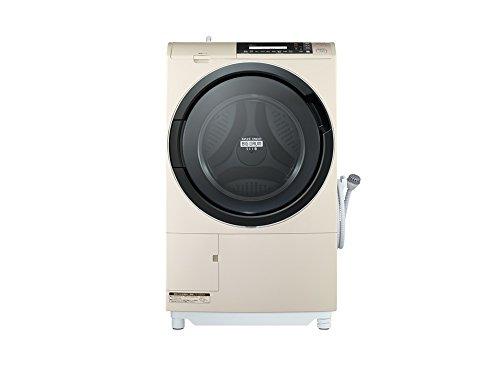 日立 10.0kg ドラム式洗濯乾燥機【左開き】ライトベージュHITACHI BD-S8700L-C