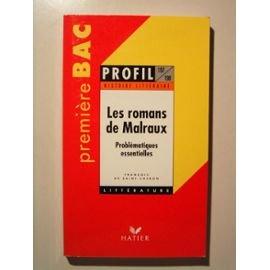 Les  romans de Malraux