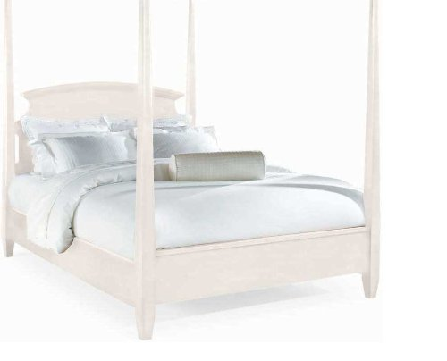 Queen American Drew Sterling Pointe Poster Bed with Optional Canopy in Off-White Finish