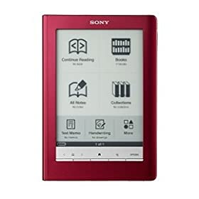 Sony Digital Reader Touch Edition - Red ( PRS600RC)