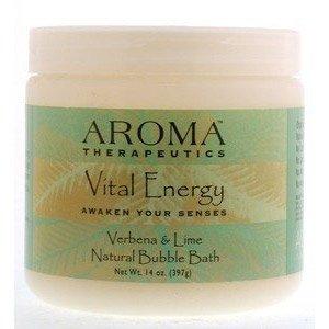 Aroma Therapeutics Vital Energy Natural Bubble Bath - Verbena & Lime