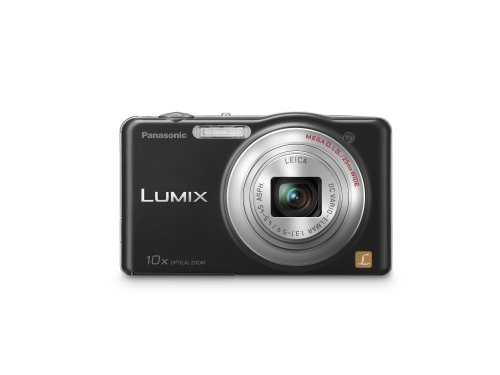 Panasonic Lumix SZ1 16.1 MP Digital Camera with 10x Optical Zoom (Black)