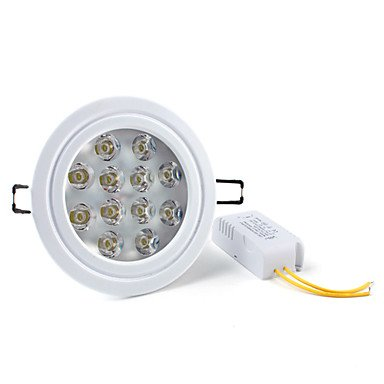 Luo 12W 1080-1200Lm 6000-6500K Natural White Light Led Ceiling Bulb (85-265V)