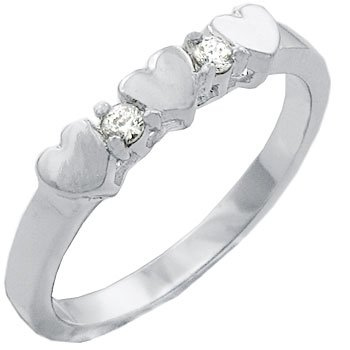 TQW10428ZCH T14 CZ and Hearts Promise Keepsake Ring (5)