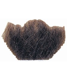 Human Hair Chin Beard Goatee