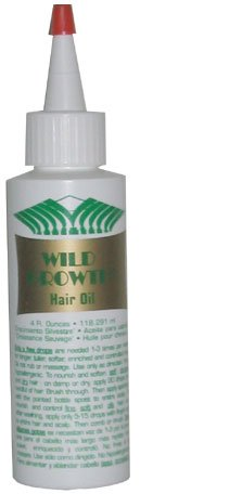 Wild Growth Hair Oil 4 Oz