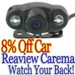 2.4G Wireless Rearview Car Rear View Back Up Camera System(Black)