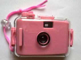 Lomo Aqua Pix Underwater Waterproof Film Camera Lovely(Dark Pink)