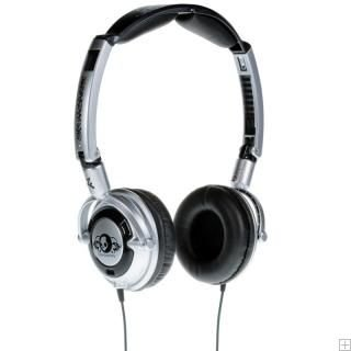 Skull Candy Lowrider Stereo Headphones In Silver / Black