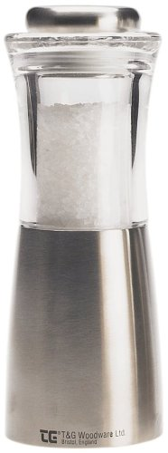 tg-crushgrind-apollo-salt-mill-stainless-steel-and-acrylic-150-mm