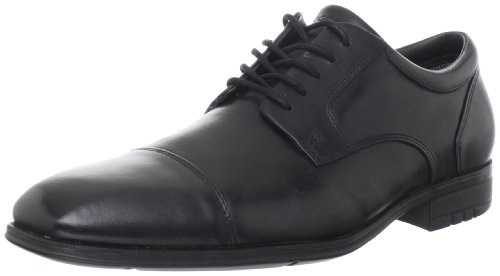 Rockport Men's Fairwood Captoe Waterproof Black Shoe K57760  9 UK , 43 EU , 9.5 US