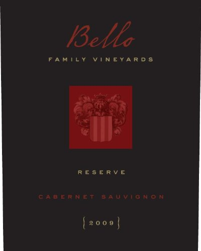 2009 Bello Family Vineyards Rutherford Reserve Cabernet Sauvignon 750 Ml