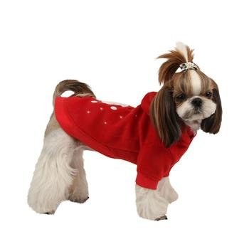 Puppia pamd TS017 Rudolph Sweater, XXL, rosso