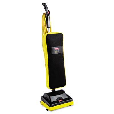 "Quality Product By Rubbermaid Commercial Produs - Upright Vacuum Ultra Light 12"" 40' Cord Black/Yellow"