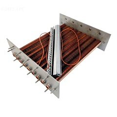 Raypak 010060F Low Nox Tube Bundle Copper - Model 267, Atmospheric - Model 266A from Raypak