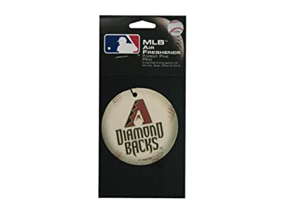 Arizona Diamondback baseball pine air freshener