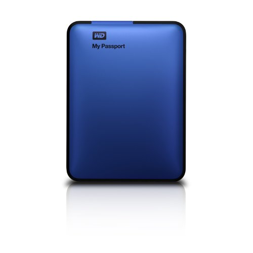 WD My Passport 500GB Portable External Hard Drive Storage USB 3.0 Blue (WDBKXH5000ABL-NESN)