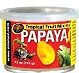 310ggwLqLJL. SL160  Zoo Med ZM 151 Tropical Fruit Mix ins Papaya 4 oz