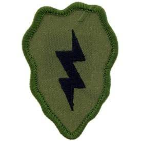 US Army Military Armed Forces Iron On Patch - Infantry Divisions - 25th Infantry Division Applique