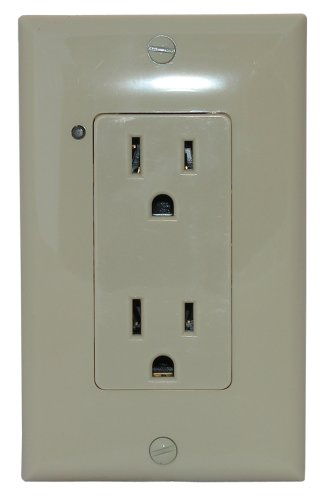 Simply Automated URD-30-I Controlled Receptacle, Ivory