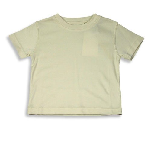 Perry Ellis - Little Boys Short Sleeved Ribbed Tee, Bone 10190-3T front-641923