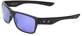 Buy Oakley Mens Twoface Iridium Rectangular Sunglasses by Oakley