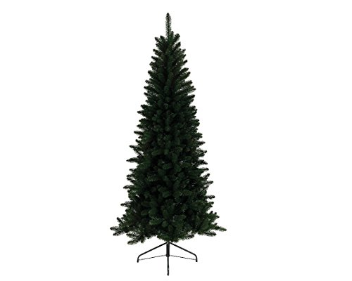 Kaemingk everlands 6ft Lodge Slim Künstlicher Weihnachtsbaum Tanne thumbnail