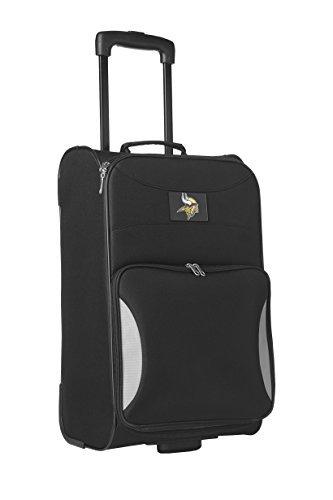 nfl-minnesota-vikings-steadfast-upright-carry-on-luggage-21-inch-black-by-denco