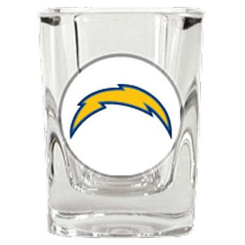 San Diego Chargers 2 Ounce Square Shot Glass