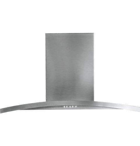 "Ge Pv976Nss Profile 36"" Stainless Steel Chimney Style Wall Mount Range Hood"