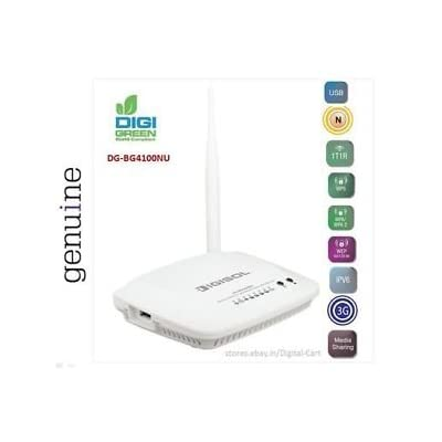 Digisol DG-BG4100NU N150 Wireless ADSL 2/2+ Broadband Router with USB Port