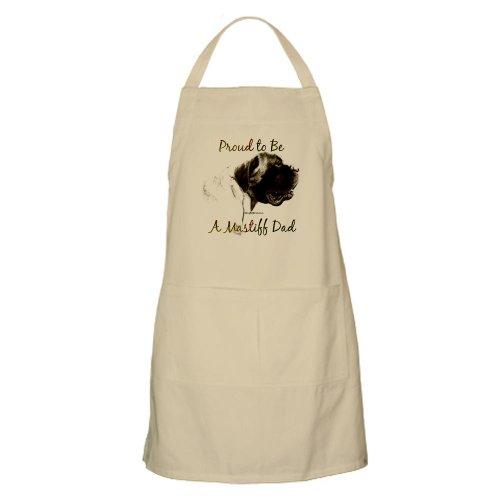 Cafepress Mastiff Dad 2 BBQ Apron - Standard