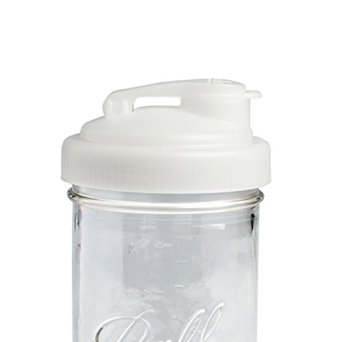 reCAP Mason Jars POUR, Wide Mouth, Canning Jar Lid, Natural (Plastic Canning Jar Lids compare prices)
