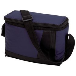 New Maxam Insulated Lunch Bag 9 Inch Zippered Main Compartment Adjustable Shoulder Strap