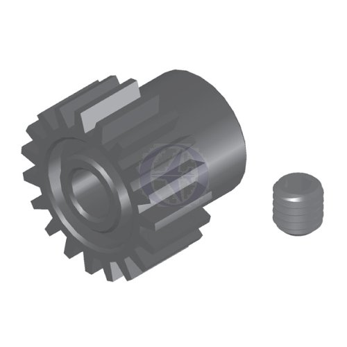 Thunder Tiger PD7036 22T Motor Pinion Gear