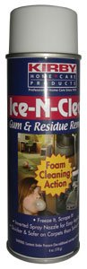 Kirby Ice-n-clean Gum & Residue Remover - Excellent Results
