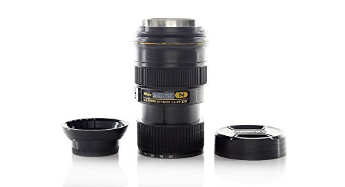 Unique Simulation Dummy Zoom Lens Thermos Mug Cup-Nikon 24-70Mm Lens Style, 101-200Ml - (Premium Quality)