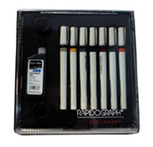 3165SP7A FINE ART PEN SET/7